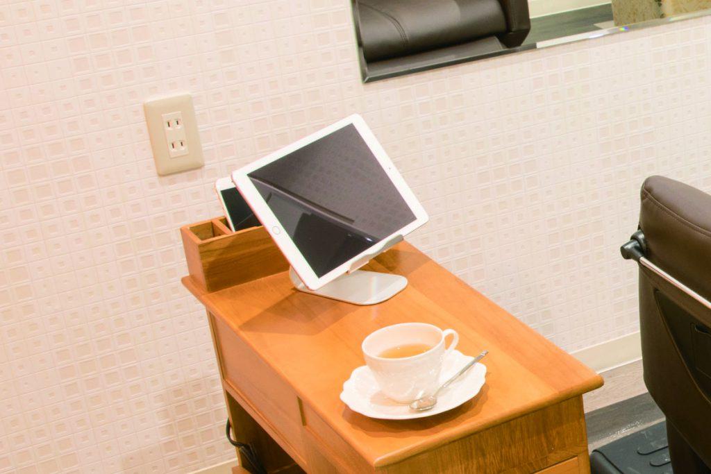 iPad貸出の写真