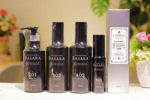 BASARAスキンケアシリーズの写真